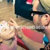 Pintacaras para niños fiestas infantiles Donostia
