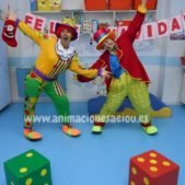 payasos fiestas infantiles Donostia