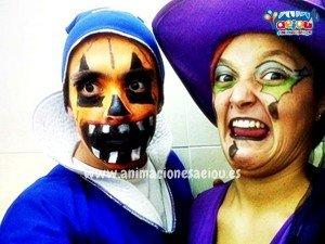 Animaciones para fiestas infantiles de Halloween en Donostia