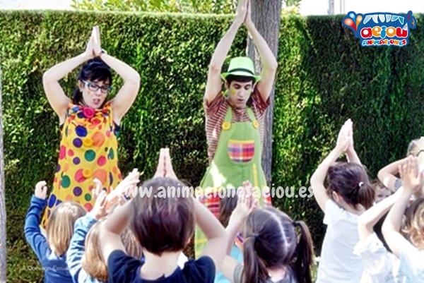 Animaciones para cumpleaños infantiles en Donostia a domicilio