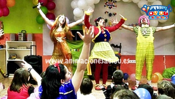 animadores para fiestas de cumpleaños infantiles en Donostia