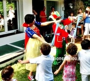 Fiestas temáticas en Donostia para niños a domicilio