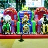 Reyes magos a domicilio Donostia