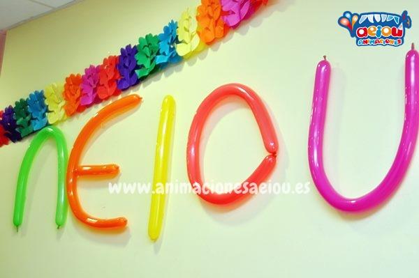 Decoración de cumpleaños infantiles a domicilio en Donostia