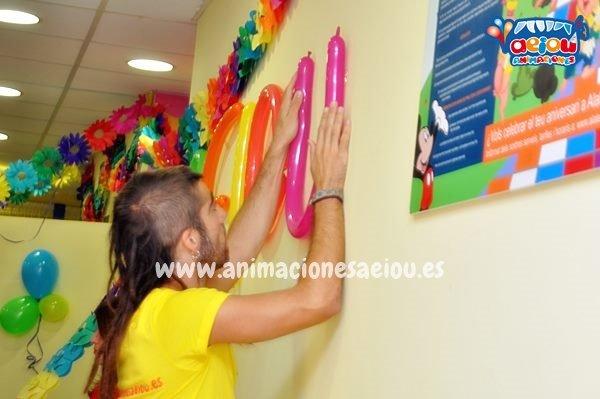 Decoraciones de fiestas infantiles en Donostia