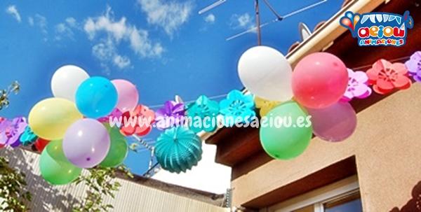 Decoraciones para cumpleaños infantiles en Donostia