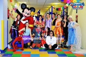 Fiestas temáticas de cumpleaños Frozen en Donostia.