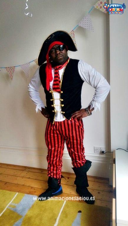 Contrata la mejor fiesta de cumpleaños pirata en Donostia