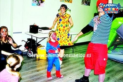 Animaciones para fiestas de cumpleaños infantiles y comuniones en Errenteria