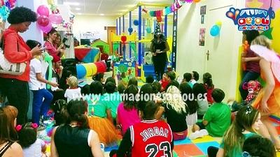 Animaciones para fiestas de cumpleaños infantiles y comuniones en Mondragón