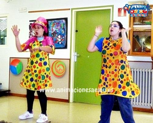 Animaciones para fiestas de cumpleaños infantiles y comuniones enBarañain