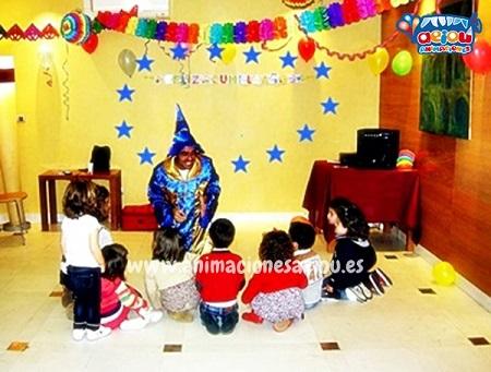 animaciones para fiestas de cumpleaños infantiles y comuniones en Burlata