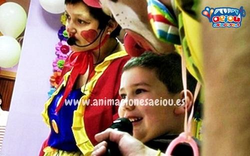 Animaciones para fiestas de cumpleaños infantiles y comuniones en Tolosa